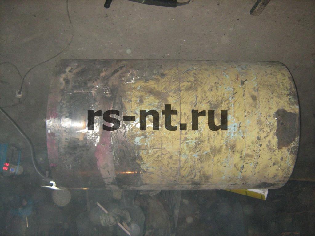 Ремонт приводного барабана ленточного конвейера