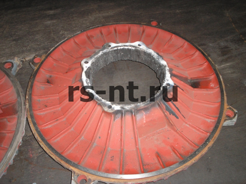 Восстановление дюралюминиевой крышки