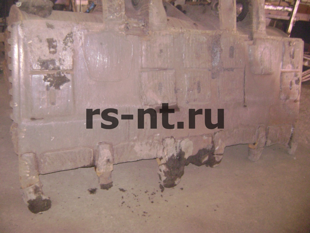 Капитальный ремонт ковша погрузчика CATERPILLAR
