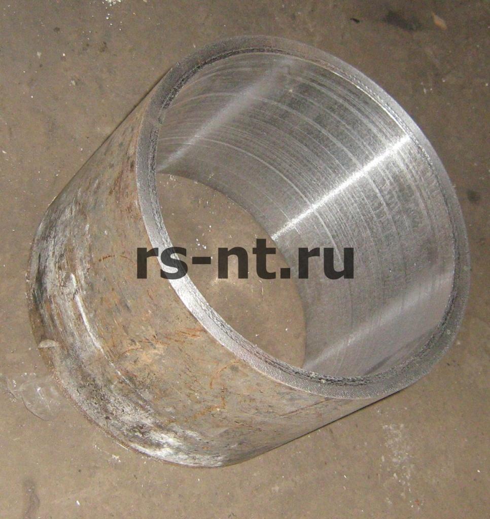 Изготовление биметаллической втулки (наплавка бронзой)