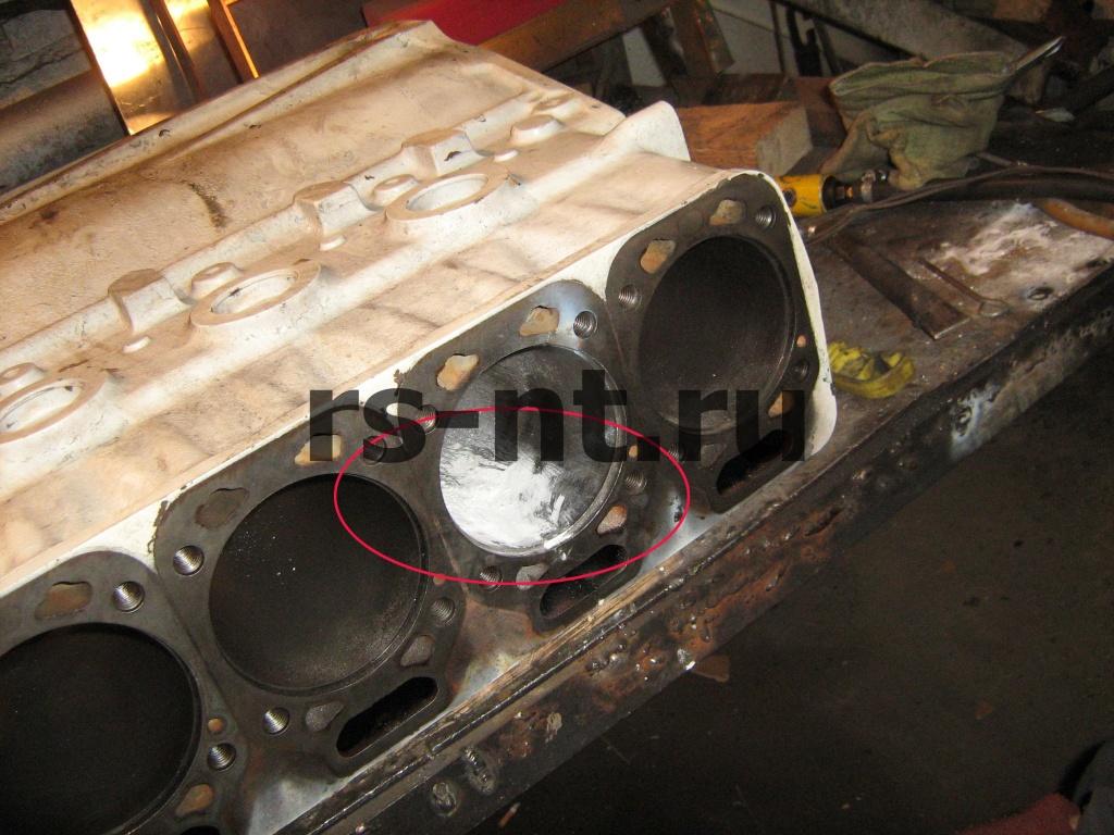 Восстановление головки блока цилиндров двигателя