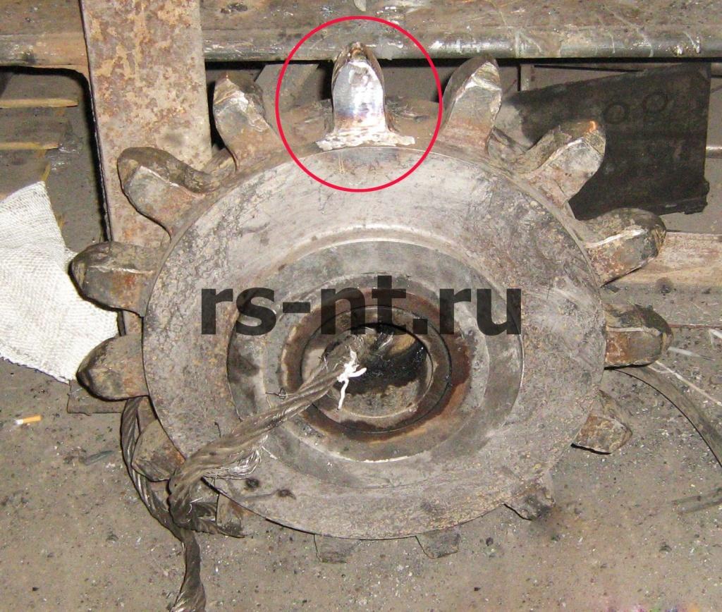 Цевочные колеса KSW-500