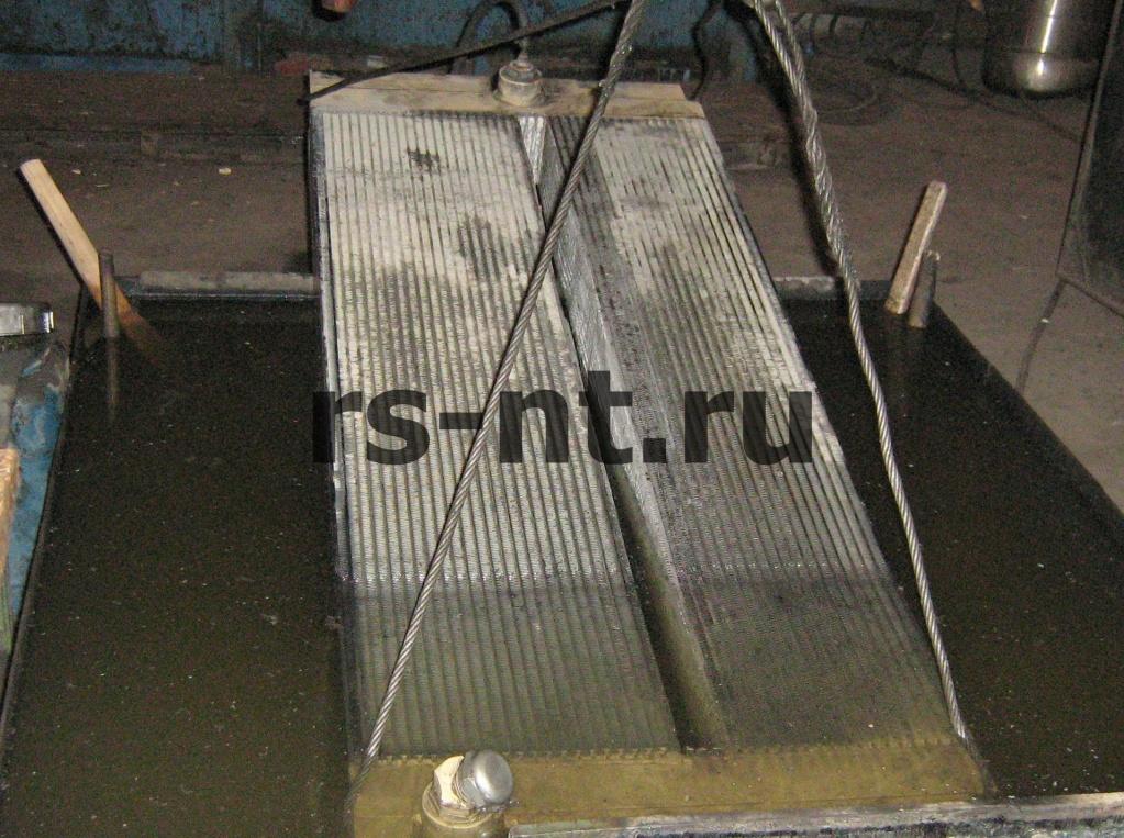 Ремонт алюминиевых радиаторов охлаждения