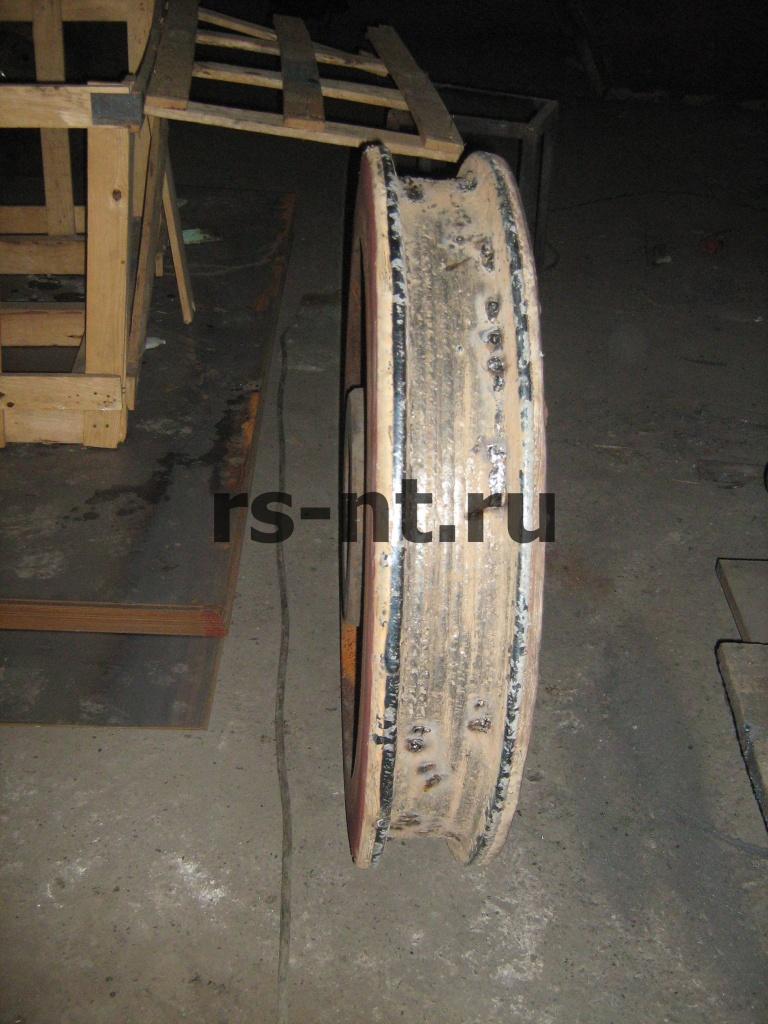 Наплавка и мех. обработка крановых колес