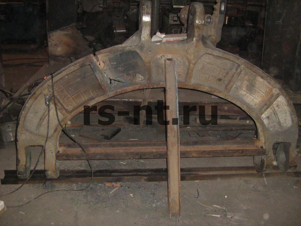 Ремонт коромысла ковша экскаватора ЭКГ-5А