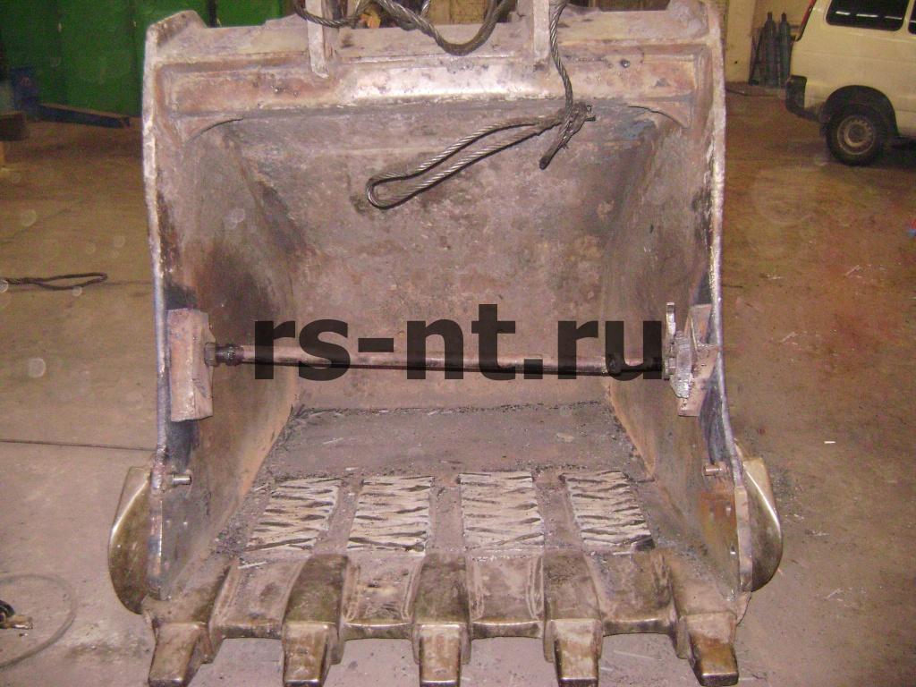 Восстановление ковша гидравлического экскаватора