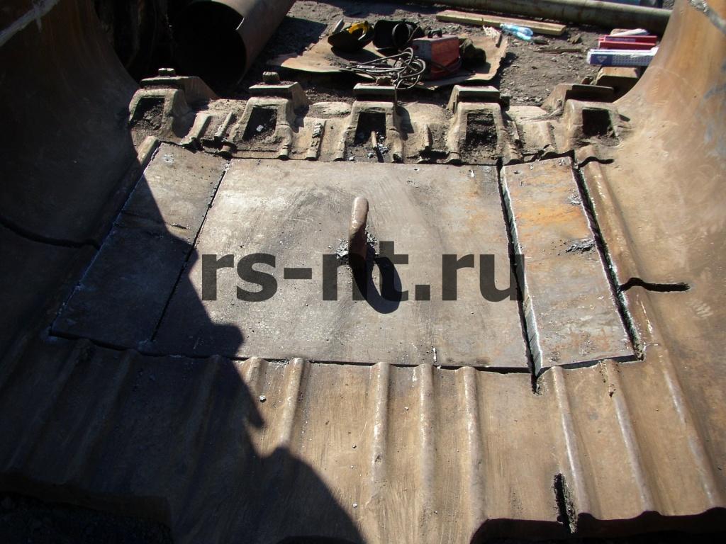 Ремонт ковша экскаватора ЭКГ