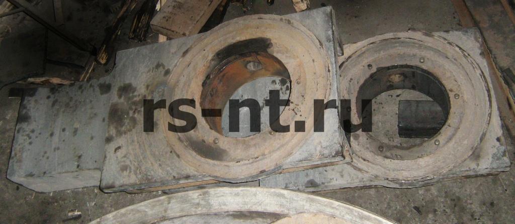 Восстановление опорных стоек колеса