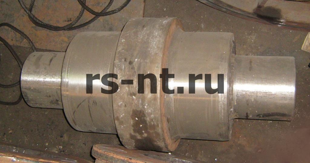 Наплавка, механическая обработка рабочих поверхностей катка