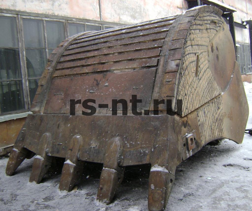 Восстановление ковша экскаватора Liebher