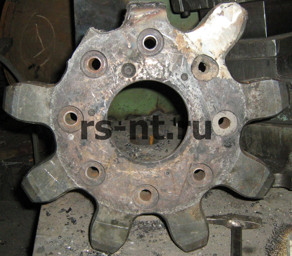 Восстановление цевочных колес