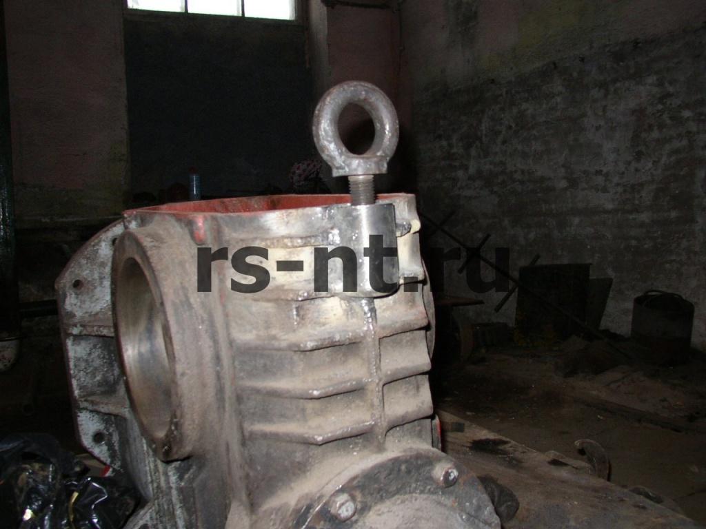 Приварка стальной проушины к чугунному корпусу