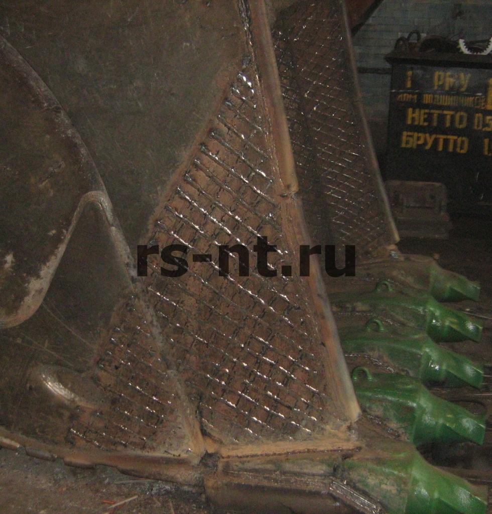 Ремонт ковша экскаватора Liebher