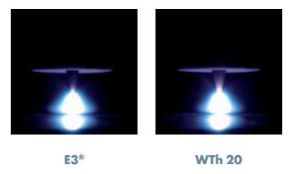 Сравнение тепловой нагрузки E3 и WT 20