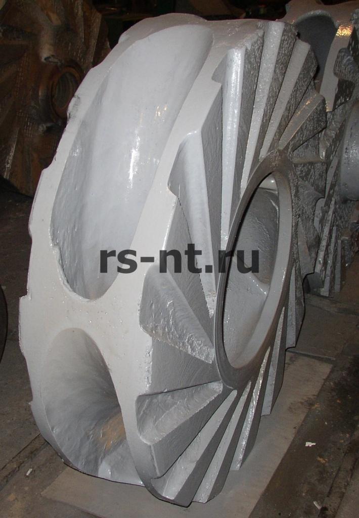 Восстановление рабочего колеса 1-ГРТ (Сплав ИЧХ 28)